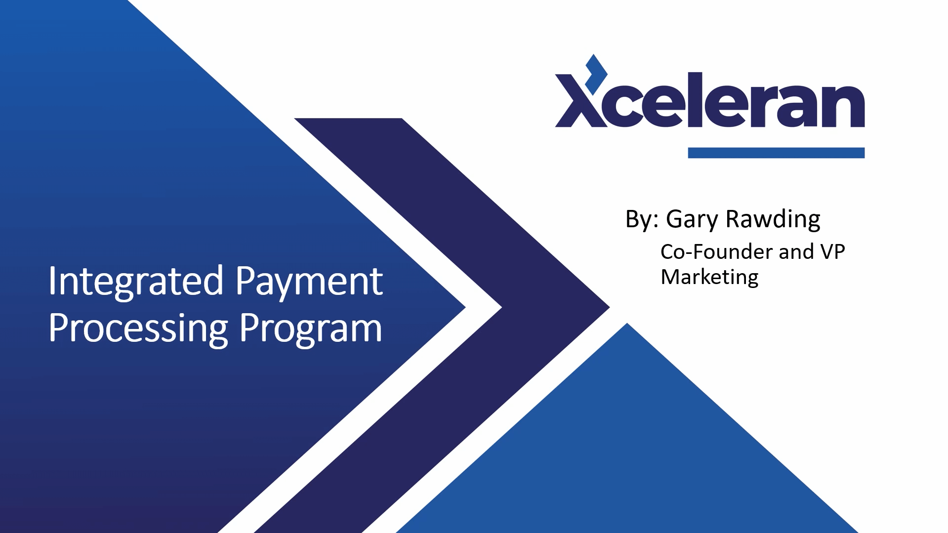 Screenshot 326 Our Payment Processing Program combines our XceleranCC Virtual Terminal with our partners Financial Technologies. Global Payments Integrated, with over 400,000 merchants, is a leader in payment processing providing stability, great programs, and meet or beat pricing.