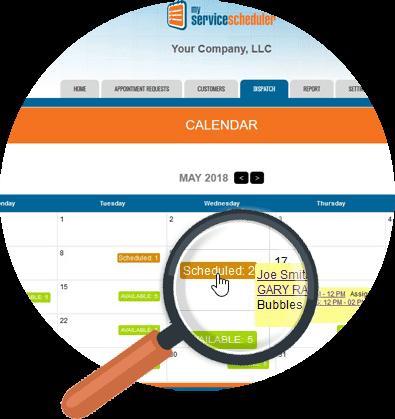 enhanced scheduler We work for you: