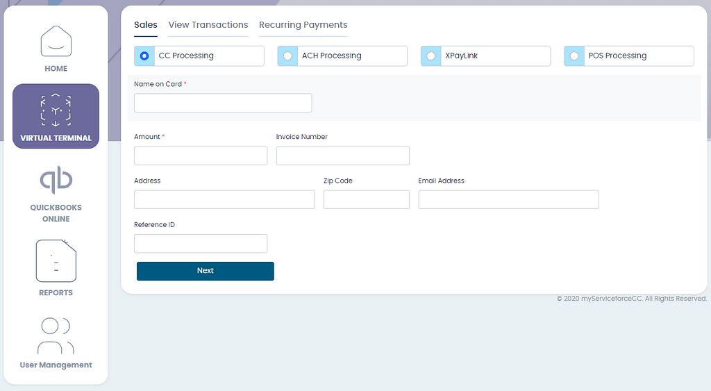 Screenshot 383 Our Payment Processing Program combines our XceleranCC Virtual Terminal with our partners Financial Technologies. Global Payments Integrated, with over 400,000 merchants, is a leader in payment processing providing stability, great programs, and meet or beat pricing.